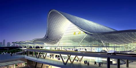 Cool Office Lighting by Wuhan Train Station Arep Arch2o Com