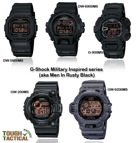 G Shock Gwg List Biru Water Resist the best g shock black inspired series