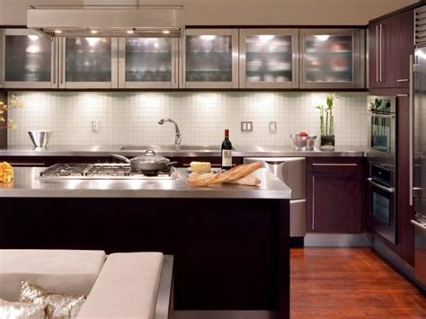 Glass For Cabinets In Kitchen Glass Kitchen Cabinet Doors Pictures Options Tips Ideas Hgtv
