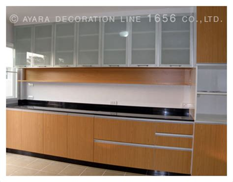 laminate cabinet panel kitchens ayara decoration line 1656