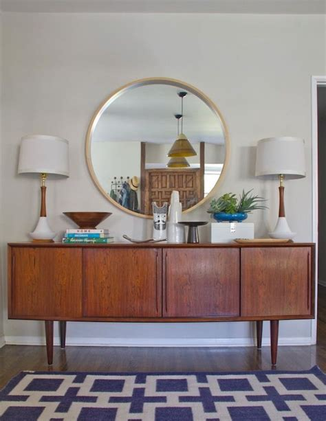 modern mirrors for dining room mid century dining room makeover by emily henderson