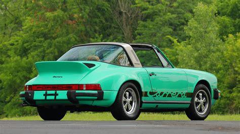 Porsche 911 Targa 1974 by 1974 Porsche 911 Carrera Targa S75 Monterey 2016