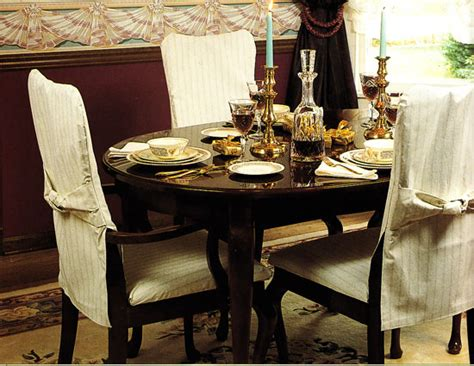 Slipcover Dining Room Chairs by How To Make Simple Slipcovers For Dining Room Chairs In