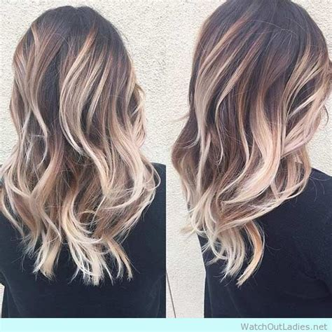 shoulder length ombre balayage 25 best ideas about medium balayage hair on pinterest