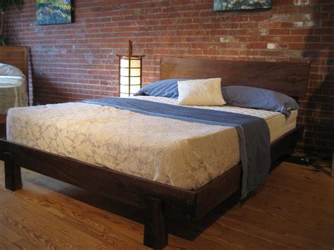 wood bed platform how to build solid wood platform bed loccie better homes