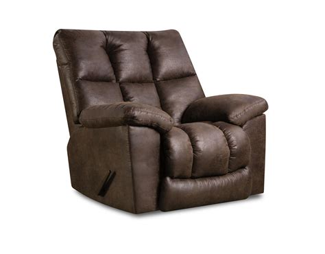 recliner pillows for bed united furniture industries u694 rocker recliner with