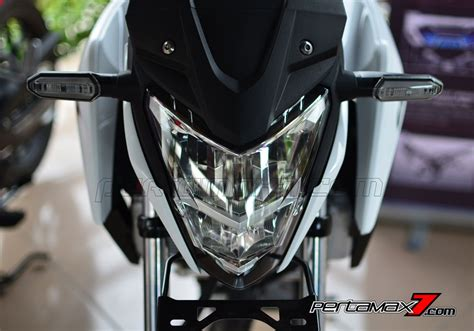 Lu Led Motor Honda Cb150r headl led all new honda cb150r streetfire di banderol