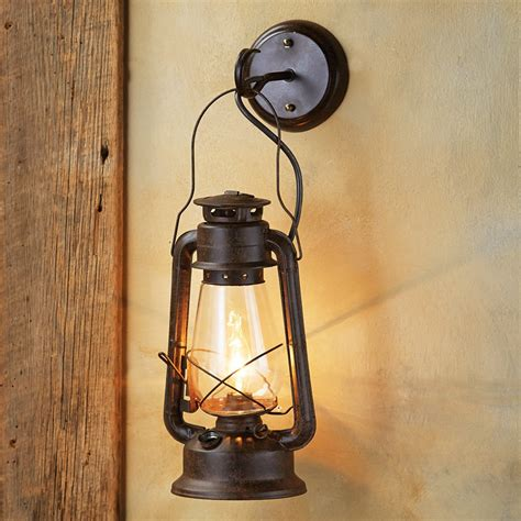 Lantern Wall Sconce by Rustic Wall Sconces Large Rustic Lantern Wall Sconce