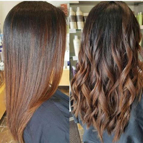 long dark brown ombre hair 40 stunning ombre hairstyle ideas for long hair
