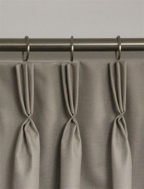 pinch pleat drapes instructions heading styles