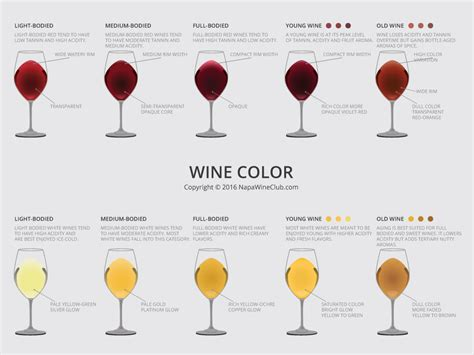 wine color how to taste wine like a pro napawineclub