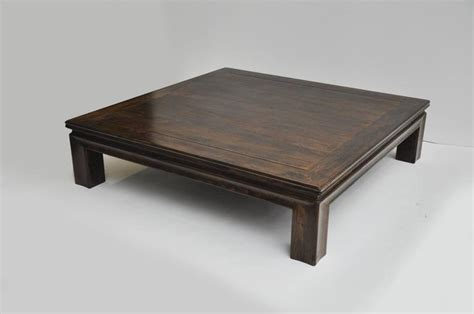 large wooden coffee table for sale at 1stdibs