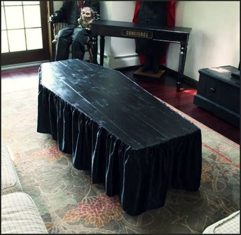 coffin coffee tables coffin shaped coffee table by forum member hilda