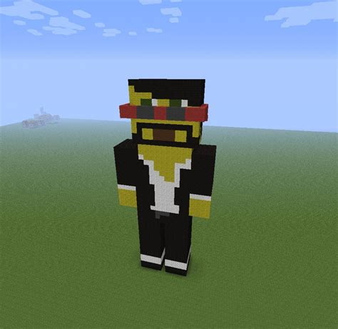 captainsparklez minecraft captain sparklez statue minecraft project
