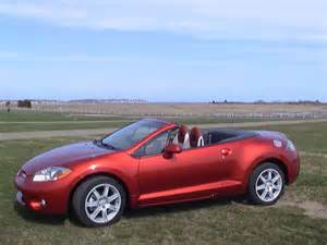 mitsubishi eclipse spyder convertible review road test