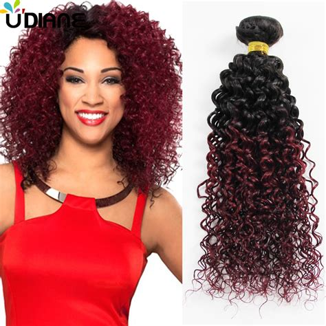 hair weaves kinky curly weave remy hair weave indian ombre curly hair extensions two tone ombre human hair weft