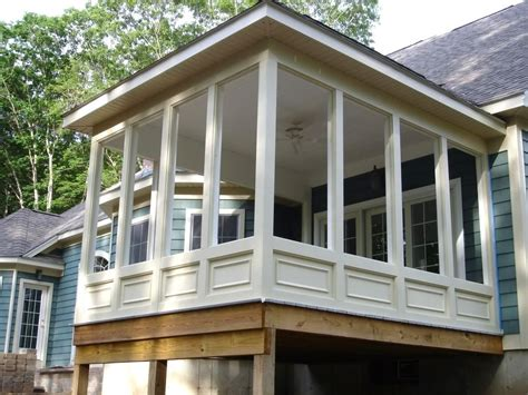 enclosed porch plans enclosed screen porch pictures