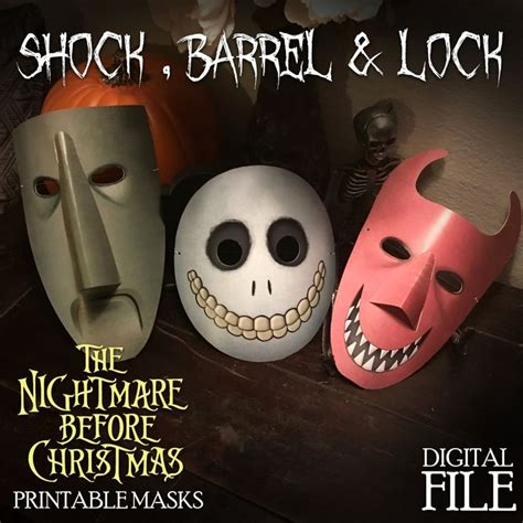 Character Mask the nightmare before character mask lock shock