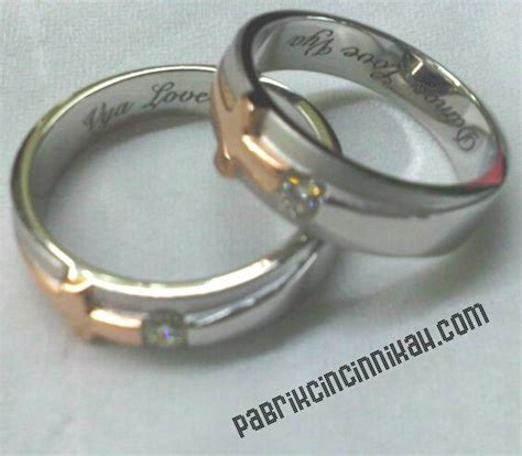1 Pasang Cincin Titanium 62 best images about cincin kawin simple design on models wedding ring and titanium