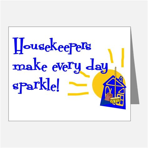 Thank You Letter After For Housekeeping Housekeeping Thank You Cards Housekeeping Note Cards Cafepress