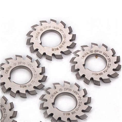 k 248 b 8stk m1 25 modul hss involute gear milling cutter set bore 22mm bazaargadgets