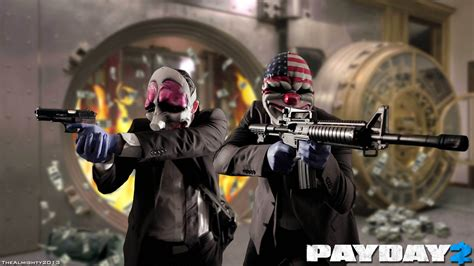 Payday 2 Criminal Record Payday 2 Robber Desktop Background Hd 1920x1080 Deskbg