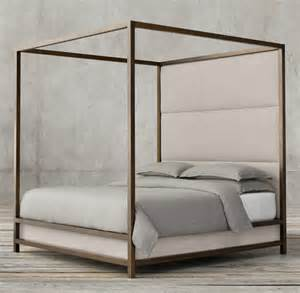 Modern Four Poster Bed Frame High End Beds For A Winter S Nap