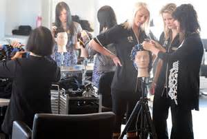 hairdressers dunedin north training salon opens otago daily times online news