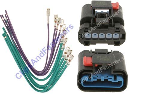 heater resistor electrical connector repair step by step chrysler blower resistor harness repair kit 5017124ab ebay