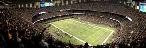 Mercedes Superdome Inside New Orleans Saints Mercedes Superdome