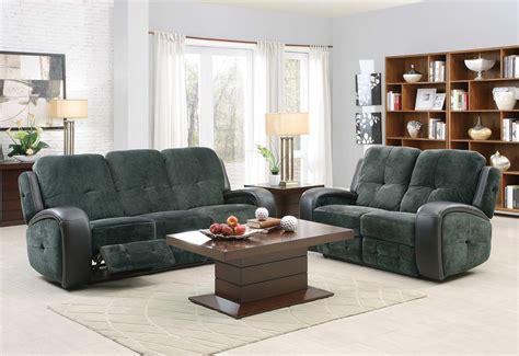 black microfiber sofa set homelegance flatbush reclining sofa set textured plush