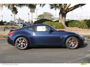 2013 Nissan 370z Touring Midnight Blue 2013 Nissan 370z Sport Touring Coupe