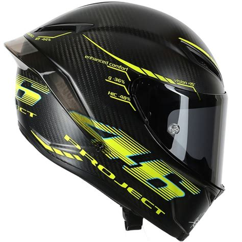 Helm Agv Pista Project 46 valentino agv pista gp project 46 version 2 0 helmet replica race helmets