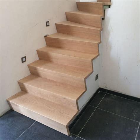 trap met hout bekleden betonnen trap bekleden houten trappen johan baeten
