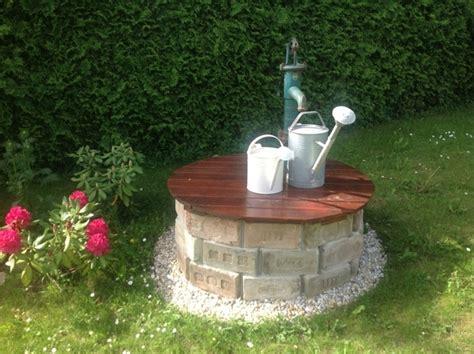 gartenbrunnen selber bauen garten und bauen