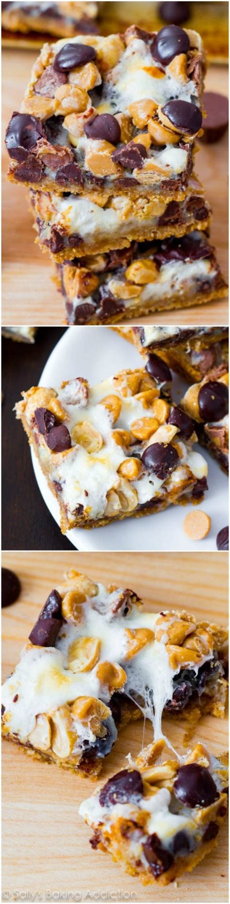 peanut butter 7 layer bars peanut butter s more 7 layer bars sallys baking addiction