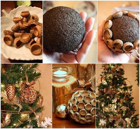 cute fall autumn acorn nut pattern christmas ornaments 5 amazing acorn cap crafts to make this autumn amazing