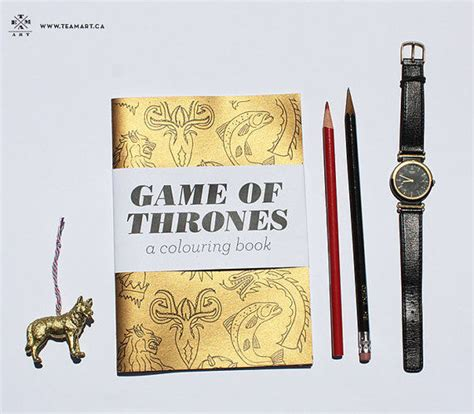 thrones coloring book etsy coloring books team