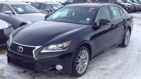 obsidian color lexus 2014 lexus gs 350 awd technology package review in