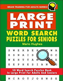large print bible word search book for seniors an insightful large print bible word search puzzles with inspirational bible words as edition seniors brain series books large print word search puzzles for seniors 50 word