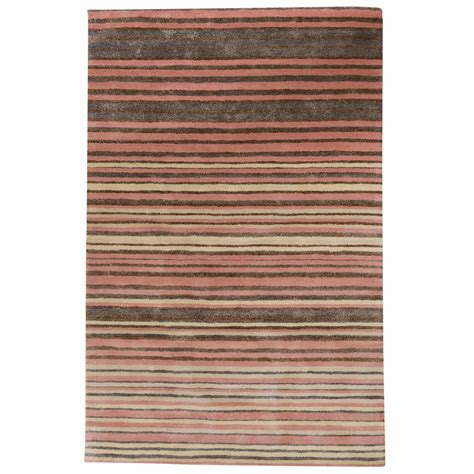 bamboo rug cheap buy stripe rug wool jute bamboo 160x230cm strawberry mouse the real rug company
