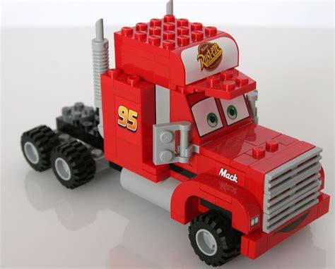 truck instructions cars 8486 mack s team truck i brick city