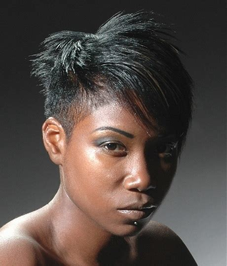 short hair cuts for black women in their 20s short shaved hairstyles for black women