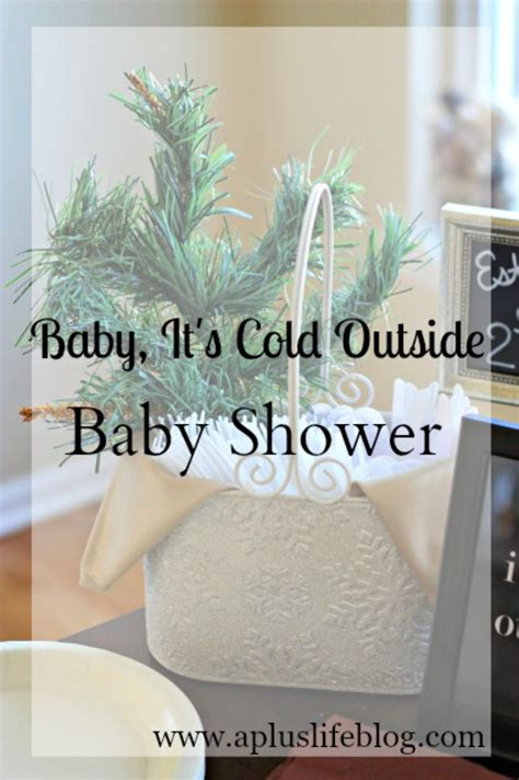 baby it s baby shower theme baby it s cold outside diy a