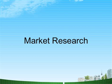 Market Research Mba Projects by Market Research Ppt Mba Bec Doms