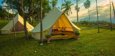 Tenda Pramuka safari tent cing ultra winds mountain resort