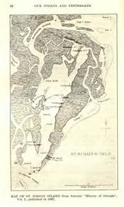 this 1847 map of simons island it is really