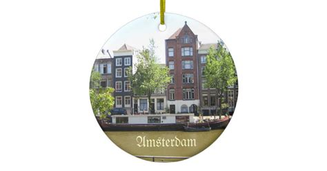 amsterdam house ornaments amsterdam ornament zazzle