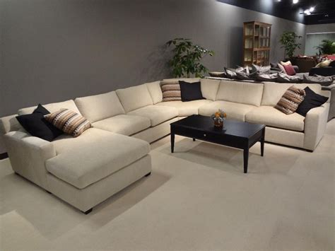 Sectional Sofa With Oversized Ottoman 20 Top Sectional Sofa With Large Ottoman Sofa Ideas