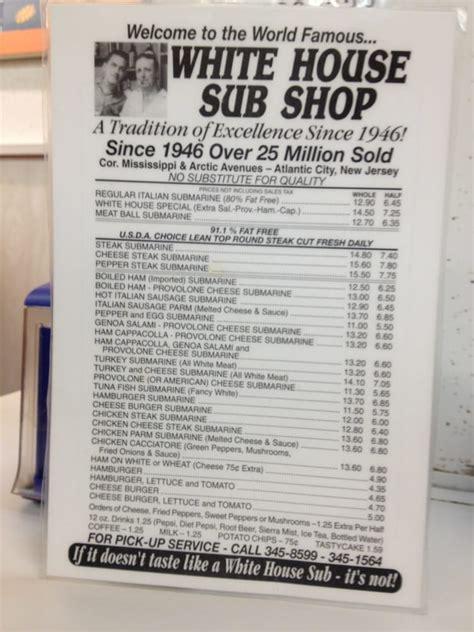 submarine house menu menu yelp
